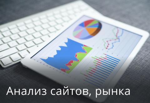 Анализ сайтов, рынка