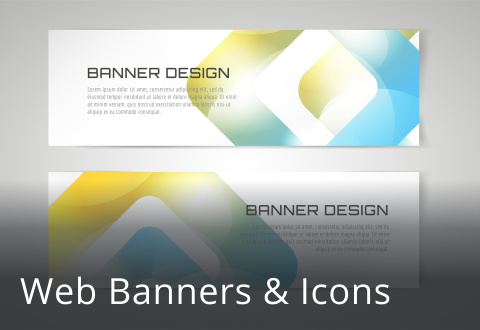Web Banners & Icons