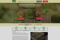 Дизайн страницы сайта 48 - kwork.ru