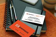 Эффектная визитка 140 - kwork.ru