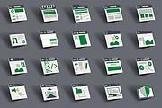 До 10 иконок или кнопок для проекта 24 - kwork.ru