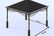 Сделаю 3d модель кованных лестниц, оград, перил, решеток, навесов 47 - kwork.ru