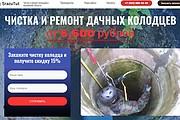 Создам лендинг на вордпресс быстро 48 - kwork.ru