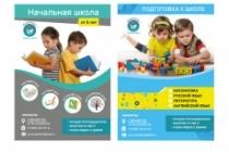Дизайн макет листовки или флаера 36 - kwork.ru