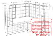 Проект корпусной мебели, кухни. Визуализация мебели 83 - kwork.ru