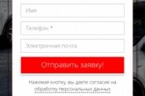 Создам лендинг на вордпресс 154 - kwork.ru