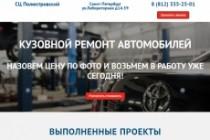 Создам лендинг на вордпресс 153 - kwork.ru