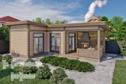 Фотореалистичная 3D визуализация экстерьера Вашего дома 205 - kwork.ru