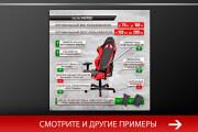 Баннер, который продаст. Креатив для соцсетей и сайтов. Идеи + 157 - kwork.ru