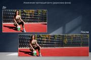 Удаление фона, дефектов, объектов 89 - kwork.ru