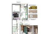 Планировочные решения. Планировка с мебелью и перепланировка 173 - kwork.ru