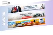 Создам 3 уникальных рекламных баннера 116 - kwork.ru