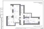 Планировка квартиры или жилого дома, перепланировка и визуализация 114 - kwork.ru
