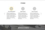 Дизайн продающего лендинга для компании 47 - kwork.ru