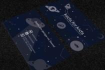 Дизайн визитки 83 - kwork.ru