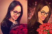 Векторный портрет 26 - kwork.ru