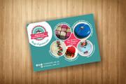 3 варианта дизайна визитки 113 - kwork.ru