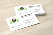 Дизайн визитки с исходниками 118 - kwork.ru
