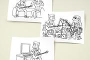Нарисую для Вас иллюстрации в жанре карикатуры 395 - kwork.ru