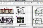 Оцифровка и редактирование чертежей в программе AutoCad 3 - kwork.ru