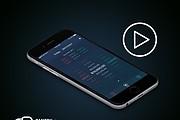 Анимация мобильного приложения для iOS - Android 5 - kwork.ru