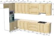 Проект корпусной мебели, кухни. Визуализация мебели 119 - kwork.ru
