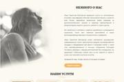 Создание красивого адаптивного лендинга на Вордпресс 105 - kwork.ru