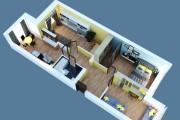 Объемно - планировочная схема, 3D 9 - kwork.ru