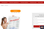 Качественная копия лендинга с установкой панели редактора 172 - kwork.ru