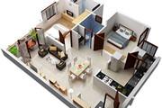 3d визуализация квартир и домов 235 - kwork.ru
