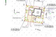 Схема планировочной организации земельного участка - спозу 47 - kwork.ru