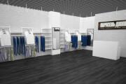 Визуализация торгового помещения, островка 60 - kwork.ru