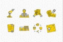 Создание иконок для сайта, приложения 114 - kwork.ru