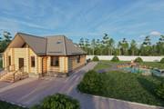 Фотореалистичная 3D визуализация экстерьера Вашего дома 292 - kwork.ru