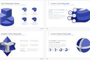 Набор премиальной инфографики для презентаций PowerPoint 6 - kwork.ru