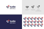 Разработка логотипа для сайта и бизнеса. Минимализм 137 - kwork.ru