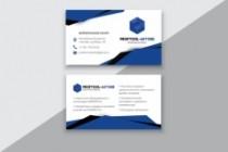 Разработаю макет визитки 161 - kwork.ru