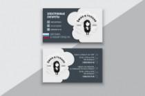 Разработаю макет визитки 141 - kwork.ru