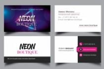 Разработаю макет визитки 181 - kwork.ru