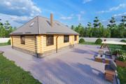 Фотореалистичная 3D визуализация экстерьера Вашего дома 293 - kwork.ru