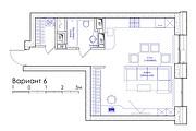 Планировка квартиры или жилого дома, перепланировка и визуализация 135 - kwork.ru