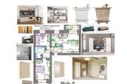 Планировочные решения. Планировка с мебелью и перепланировка 160 - kwork.ru