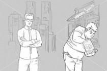 Нарисую иллюстрацию с одним персонажем 50 - kwork.ru
