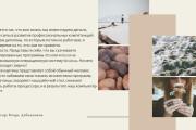 Стильный дизайн презентации 710 - kwork.ru