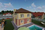 Фотореалистичная 3D визуализация экстерьера Вашего дома 367 - kwork.ru