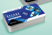 Разработаю красивый, уникальный дизайн визитки в современном стиле 121 - kwork.ru