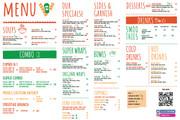 Дизайн меню для кафе, ресторанов, баров и салонов красоты 25 - kwork.ru