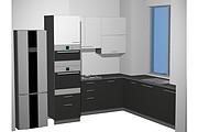 Визуализация мебели, предметная, в интерьере 100 - kwork.ru