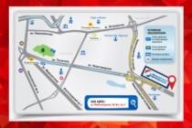 Отрисовка схемы проезда, карты 12 - kwork.ru