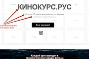 Лендинг для любых целей на Wordpress 130 - kwork.ru